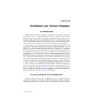 Geoenvironmental Engineering Contaminated Soils, Pollutant Fate, and Mitigation - Chapter 8 (end )
