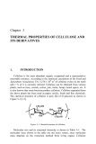 Thermal Properties of Green Polymers and Biocomposites Part 5