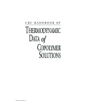 Thermodynamic Data of Copolymer Solutions Part 1