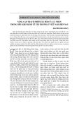 """Đề tài triết học """" Nâng cao trách nhiệm xã hội của cá nhân trong điều kiện kinh tế thị trường ở Việt Nam hiện nay """""""