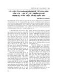 """Đề tài triết học """" Lý luận của N.Ia.Đanhilevxki về các loại hình văn hoá - lịch sử và ý nghĩa của nó trong sự phát triển xã hội ngày nay """""""