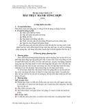 Bài tập và thực hành số 9 về BÀI THỰC HÀNH TỔNG HỢP