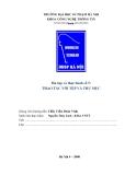 Bài tập và thực hành số 5 về THAO TÁC VỚI TỆP VÀ THƯ MỤC