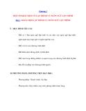 Chương 1 MỘT SỐ KHÁI NIỆM VỀ LẬP TRÌNH VÀ NGÔN NGỮ LẬP TRÌNH