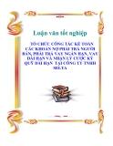LUẬN VĂN: TỔ CHỨC CÔNG TÁC KẾ TOÁN CÁC KHOẢN NỢ PHẢI TRẢ NGƯỜI BÁN, PHẢI TRẢ VAY NGẮN HẠN, VAY DÀI HẠN VÀ NHẬN LÝ CƯỢC KÝ QUỸ DÀI HẠN  TẠI CÔNG TY TNHH SELTA