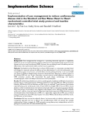 """báo cáo khoa học: """" Implementation of case management to reduce cardiovascular disease risk in the Stanford and San Mateo Heart to Heart randomized controlled trial: study protocol and baseline characteristics"""""""