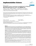 """báo cáo khoa học: """"  A pragmatic cluster randomised controlled trial of a Diabetes REcall And Management system: the DREAM trial"""""""