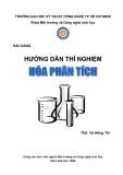 Bài giảng hướng dẫn thí nghiệm hóa phân tích - Ths Võ Hồng Thi