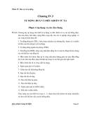 Phần IV: Bảo vệ và tự động Chương IV.3 TỰ ĐỘNG HOÁ VÀ ĐIỀU KHIỂN TỪ XA