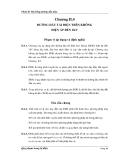 Phần II: Hệ thống đường dẫn điện Chương II.4 ĐƯỜNG DÂY TẢI ĐIỆN TRÊN