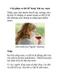 9 bộ phận cơ thể dễ 'hỏng' khi say rượu