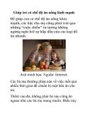 Giúp trẻ có chế độ ăn uống lành mạnh