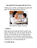 Mẹo giảm bớt trào ngược khi cho trẻ ăn