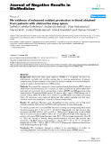 "Báo cáo khoa hoc:""   No evidence of enhanced oxidant production in blood obtained from patients with obstructive sleep apnea"""