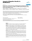 "Báo cáo khoa hoc:""   Prospective randomized trial of iliohypogastric-ilioinguinal nerve block on post-operative morphine use after inpatient surgery of the female reproductive tract"""