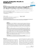 """Báo cáo khoa hoc:""""   Multiple dosing strategies with acetyl L-carnitine (ALCAR) fail to alter age-related hearing loss in the Fischer 344/NHsd rat"""""""