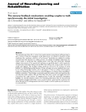 """Báo cáo khoa hoc:""""  The sensory feedback mechanisms enabling couples to walk synchronously: An initial investigation"""""""