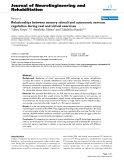 "Báo cáo khoa hoc:""   Relationships between sensory stimuli and autonomic nervous regulation during real and virtual exercises"""