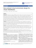 "Báo cáo khoa hoc:""  User-centered virtual environment design for virtual rehabilitation"""