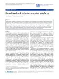 "Báo cáo khoa hoc:""  Biased feedback in brain-computer interfaces"""
