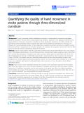 "Báo cáo khoa hoc:""   Quantifying the quality of hand movement in stroke patients through three-dimensional curvature"""