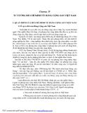 Chương IV TƯ TƯỞNG HỒ CHÍ MINH VỀ ĐẢNG CỘNG SẢN VIỆT NAMI. QUAN ĐIỂM CỦA