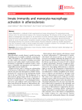 """Báo cáo y học: """" Innate immunity and monocyte-macrophage activation in atherosclerosis"""""""