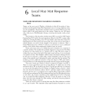 EMERGENCY RESPONSE TO CHEMICAL AND BIOLOGICAL AGENTS - CHAPTER 6