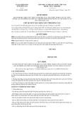 Quyết định số 3136/QĐ-UBND