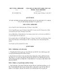 Quyết định số 2120/QĐ-TTg
