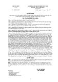 Quyết định số 2699/QĐ-BTC