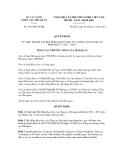 Quyết định số 2387/QĐ-TCHQ