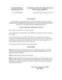 Quyết định số 2728/QĐ-UBND