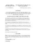 Quyết định số 1724/QĐ-BNN-TC