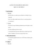 § 4 PHẢN ỨNG TRAO ĐỔI ION TRONG DUNG DỊCH CÁC CHẤT ĐIỆN LI