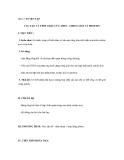 Bài 12: LUYỆN TẬP CẤU TẠO VÀ TÍNH CHẤT CỦA AMIN, AMINO AXIT VÀ PROTEIN