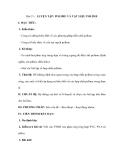 Bài 15: LUYỆN TẬP: POLIME VÀ VẬT LIỆU POLIME
