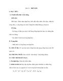 Bài 19: HỢP KIM