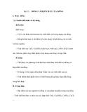 Bài 35: I. MỤC TIÊU:  ĐỒNG VÀ HỢP CHẤT CỦA ĐỒNG