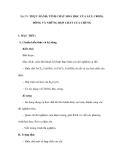 Bài 39: THỰC HÀNH: TÍNH CHẤT HOÁ HỌC CỦA SẮT, CROM, ĐỒNG VÀ NHỮNG HỢP CHẤT CỦA CHÚNG