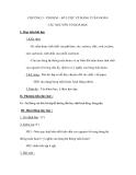 CHƯƠNG 3 - PHI KIM – SƠ LƯỢC VỀ BẢNG TUẦN HOÀN CÁC NGUYÊN TỐ HOÁ HỌC