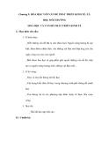Chương 9: HÓA HỌC VỚI VẤN ĐỀ PHÁT TRIỂN KINH TẾ, XÃ HỘI, MÔI TRƯỜNG HOÁ HỌC VÀ VẤN ĐỀ PHÁT TRIỂN KINH TẾ
