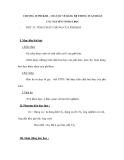 CHƯƠNG II: PHI KIM – SƠ LƯỢC VỀ BẢNG HỆ THỐNG TUẦN HOÀN CÁC NGUYÊN TỐ HOÁ