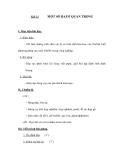 Tiết 12  MỘT SỐ BAZƠ QUAN TRỌNG