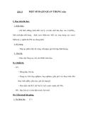 Tiết 13  MỘT SỐ BAZƠ QUAN TRỌNG (tiếp)