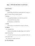 Tiết 22 : TÍNH CHẤT HOÁ HỌC CỦA KIM LOẠI