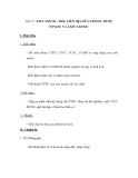 Tiết 55: AXIT AXETIC. MỐI LIÊN HỆ GIỮA ETILEN, RƯỢU ETYLIC VÀ AXIT AXETIC