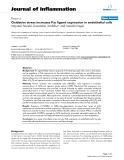 """Báo cáo y học: """" tế ngành y học dành cho các bạn tham khảo đề tài: Early Oxidative stress increases Fas ligand expression in endothelial cells"""""""