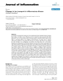 """Báo cáo y học: """" Early Changes in ion transport in inflammatory disease"""""""