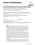"""Báo cáo y học: """"A novel hybrid aspirin-NO-releasing compound inhibits TNFalpha release from LPS-activated human monocytes and macrophages"""""""